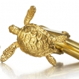 Cufflinks: Gold Hawksbill Turtle